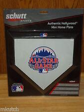 2013 All Star Schutt mini home plate-New York Mets - Autograph ready! Rivera MVP