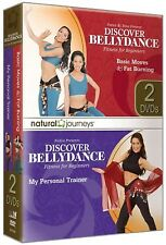 DISCOVER BELLYDANCE Basic Moves & Fat Burning AND My Trainer  (DVD) workouts NEW