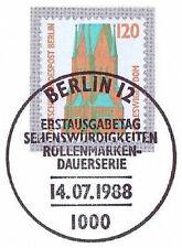 Berlin 1988: St.-Petri-Dom  Schleswig! SWK Nr 815 mit Ersttags-Sonderstempel! 1A