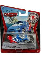 2012 Disney Cars 2 Metallic Finish Silver Racer Series Raoul Caroule KMART