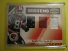 Marcus Easley 2010 Panini Gridiron Triple Material Rookie Gem #D 40/50