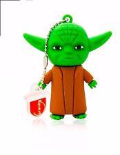 8 Gb Maestro Yoda Star Wars USB 2.0 Flash Pen Drive Tarjeta de memoria NUEVA PENDRIVE