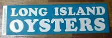 Original Vintage 1950s Long Island NY Oysters Paper Advertising Sign-Label LIOGA