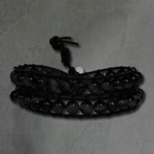 Achat Beauty-Modeschmuck-Armbänder aus Leder