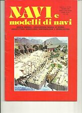 "REVUE  DE MODELISME  NAVAL  ITALIENNE ""NAVI e modelli di navi"" N°28 1979"
