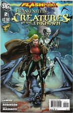 Flashpoint: Frankenstein and the Creatures of the Unknown #2 - VF/NM