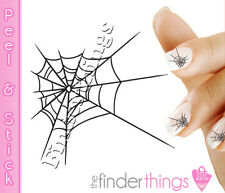 Halloween Spider Web Nail Art Decal Stickers HAL120