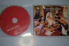 Simple Plan ‎– I'd Do Anything. CD-SINGLE PROMO
