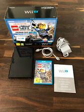 NINTENDO Wii U KONSOLE 32GB + OVP + LEGO CITY UNDERCOVER + ZUBEHÖRPAKET **TOP**