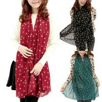 Fashion Winter Warm Women Ladies Fashion Dot Pattern Scarf Wrap Shawl Scarves