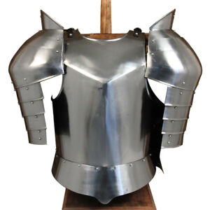Hand Forged Medieval Warhorse Armor Cuirass and Pauldron Set