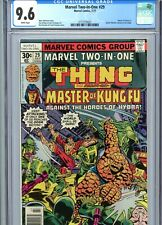 Marvel Two-In-One #29 CGC 9.6 WP Thing Shang-Chi Marvel Comics 1977