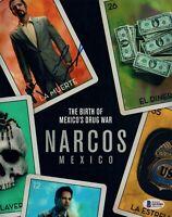 Diego Luna Signed Autograph 8x10 Photo NARCOS Beckett BAS COA