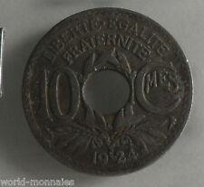 10 centimes lindauer 1924 poissy : B : pièce de monnaie française