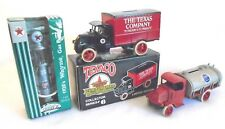 TEXACO & SOUTHERN STATES TRUCK TANKER 1925 MACK BULLDOG & 1920 TEXACO GAS PUMP
