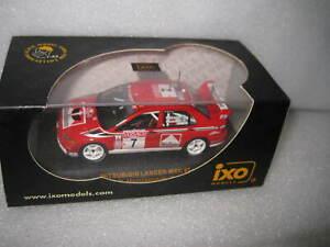 IXO 1:43 WRC MITSUBISHI LANCER EVO #7 T MAKINEN RALLY SANREMO 2001 RAM054