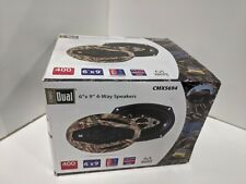 """New listing Dual 6""""x9"""" 4- Way Speakers Realtree"""