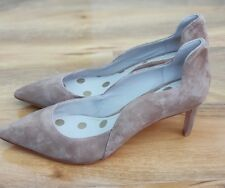 BODEN LADIES HEEL SCOLLOPED SUEDE POINTE SHOES EU 42 UK 8.5 BRAND NEW RRP £110