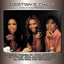 Destiny's Child This is The remix (2009, CD NEW sealed)