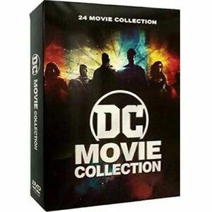 DC Movie Collection DVD - 24 Movie Box Set - Brand New