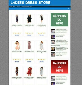 WOMENS CLOTHING WEBSITE AFFILIATE STORE + FULLY STOCKED + FREE NEW DOMAIN