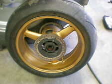 2003 Yamaha R1 1000               Rear Wheel with Disc and Sprocket