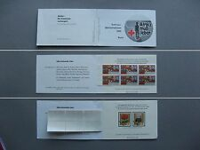 GERMANY BRD, Privat booklet 1985 MNH, Red Cross, Wohlfahrtsmarken, flower snail