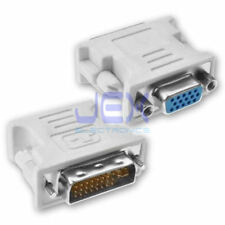 DVI-I Male Dual-Link 24+5 to VGA Female DE-15 Video Monitor Adapter Converter