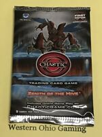 Chaotic Zenith of the Hive 1st Edition Booster Pack from Box NEW Card Game First