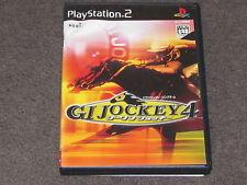 G1 Jockey 4 PS2 NTSC-J Japanese Import Japan (no manual)