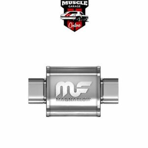 """14152 - 4"""" Inlet/Outlet 8""""x5""""x6"""" Body - Stainless Steel Magnaflow Muffler"""