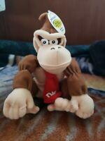 Vintage 1997 BD&A Nintendo Super Mario 64 Donkey Kong Bean Bag Plush w/Hang Tag