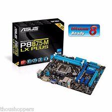 ASUS P8B75-M LX PLUS Intel B75 LGA1155 SATA3 DDR3 Motherboard USB3.0 MicroATX