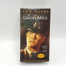 The Green Mile VHS 2000 Collector's Edition Documentary Behind Scenes Tom Hanks