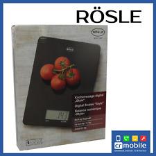 R�–SLE Küchenwaage Digital Scales +/- 1g Präzision Waage f. Küche bis 5kg NEU WOW