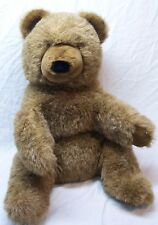 "Gund Collector's Classics 1977 Vintage Brown Bear 20"" Plush Stuffed Animal Toy"
