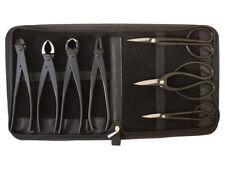 Bonsai-Werkzeug-Set Profi 8 teilig Japanqualität mit Tasche # HqB-225bT