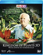 Kingdom of Plants 3D NEW Cult Series Blu-Ray Disc M. Williams David Attenborough