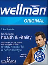 Vitabiotics Wellman Original- UKs No1 For Men-30Tablets