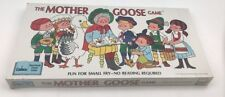 The Mother Goose Game Cadaco: Fan for Small Fry - No Reading Required. Brand New