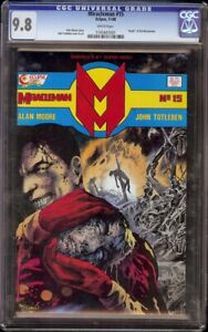 Miracleman # 15 CGC 9.8 White (Eclipse, 1988) Death of Kid Miracleman