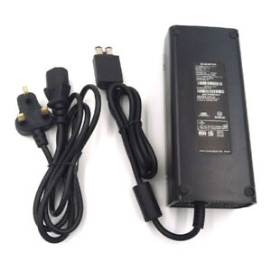 New SLIM AC Power Supply Brick Charger Adapter Cable Cord for Microsoft Xbox 360