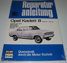 Reparaturanleitung Opel Kadett B Rallye Olympia A GT 1100 1900 1967 - 1973 NEU!