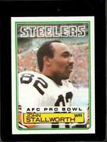 1983 TOPPS #366 JOHN STALLWORTH EXMT STEELERS HOF NICELY CENTERED  *X3 ID:*X3991