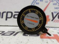 MITSUBISHI PAJERO SHOGUN MK2 91-00 ORANGE ALTIMETER GAUGE DIAL POD + FREE UK P&P