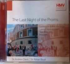 The Last Night Of The Proms - CD -  Sir Adrian Boult - Sir Andrew Davis - VGC