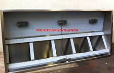 Extraction Canopy Canopies - Baffle Filters and Lights for Commercial Kitchen