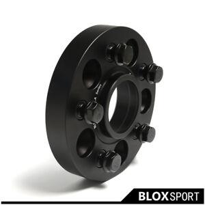 "4pc 1.25"" 30mm For BMW X1 X3 M14x1.25 Bolts Thread Wheel Spacers PCD5x112 CB66.5"