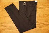 NWT MEN'S INCOTEX WOOL DRESS PANTS Multiple Sizes Super 120's Regular Fit Navy