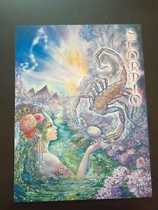 Scorpio Zodiac Card
